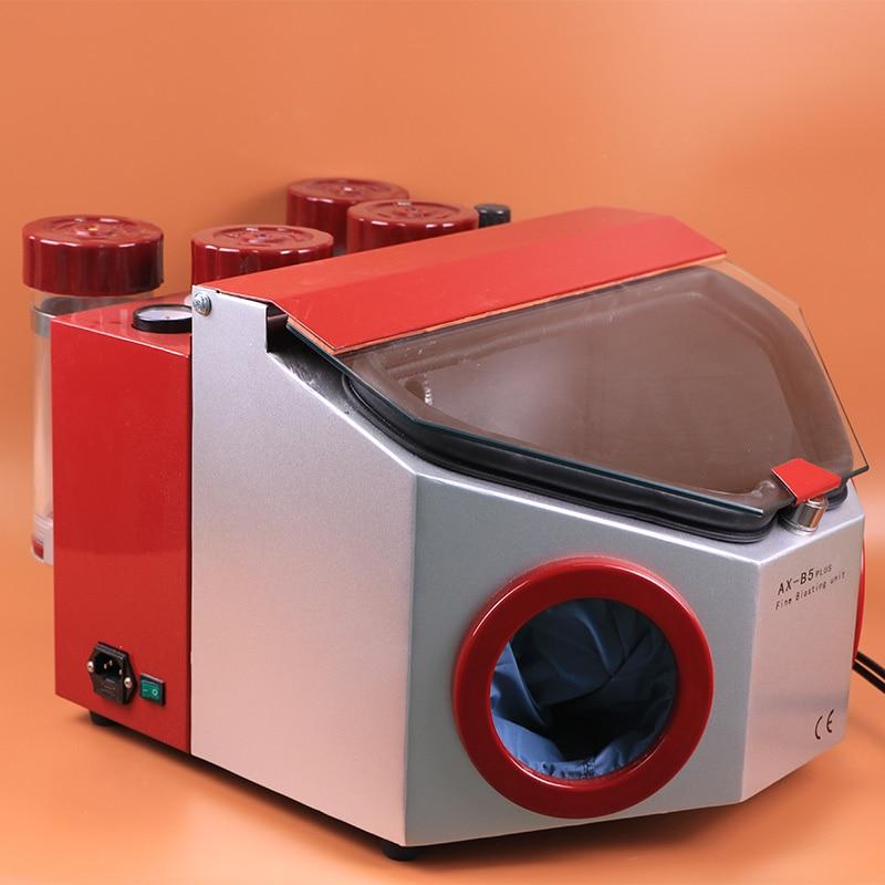 TJIRIS Teeth Whitening Sand Blasting Machine Dental Blaster Tool for Sandblasting