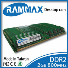 Nuevo sellado LO-DIMM 800 Mhz Memoria Ram de Escritorio 2 GB PC2-6400 DDR2 240pin/CL6/1.8 v compatible con todos los procesadores AMD/Intel placas base de PC