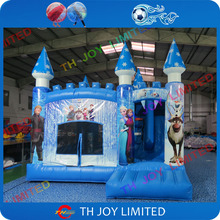 free shipping 5x4m commercial grade kids frozen inflatable bouncer inflatable bouncy castles inflatable bounce house kid jumper
