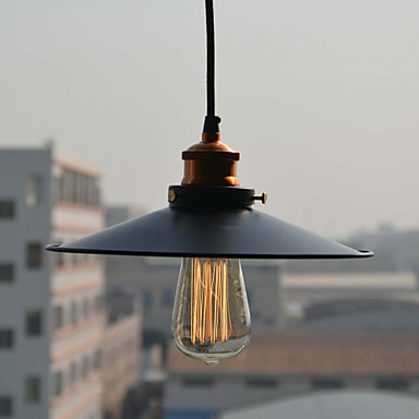 European-Style Retro 1 Light Pendant In Painting Processing For Bar Decoration pendant light E26/E27<br>