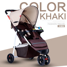 New Folding Baby Stroller Light Carriage Travel Stroller Fashion Baby Buggy High Quality