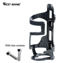 Buy WEST BIKING Carbon Fiber Bicycle Water Bottle Cage Holder Cycling Water Bottle Rack Holder Cage Bike Ultralight Brackets Racks for $5.31 in AliExpress store