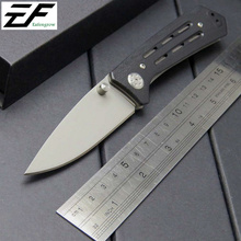Newest 1985ST Folding Knives  8CR Steel Serrated Blade G10 Handle pocket knife  3820 Outdoor EDC Hand Tool knife