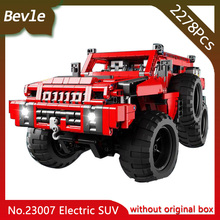 LEPIN 23007 2278Pcs Technic Series Electric Motor Sport Utility Vehicle Model Building Blocks Bricks Toys For Children Gift(China)