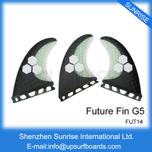 Future G5 Carbon Fin New Design Future Fibreglass Fin SUP Board Surfing Fins Free Shipping