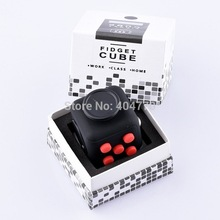 Original High Quality Fidget Cube 3.3x3.3cm Frosted Surface Good Hand Feeling Desk Spin Magic Cubes Stress Relief Toys(China)