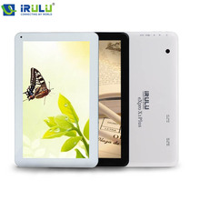 "iRULU eXpro X1Plus Tablet PC 10.1"" 16GB ROM Android 5.1 A33 Quad Core Dual Camera Bluetooth support wifi  Russian keyboard case"