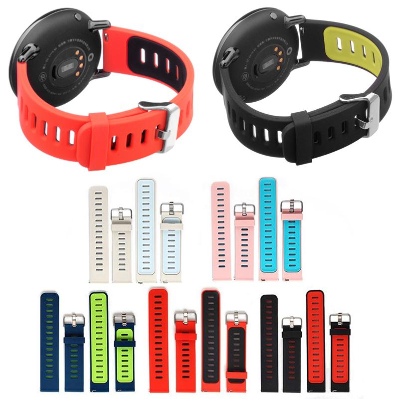 Amzdeal Fashion Replacement High Quality Soft Silicone Band Wrist Strap Band Belt for AMAZFIT Sports Smart Watch Accessories 2
