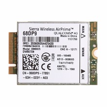 Wireless 3G 4G WWAN M.2 NGFF PCI Express Card For DELL DW5570e EM8805 68DP9 C26