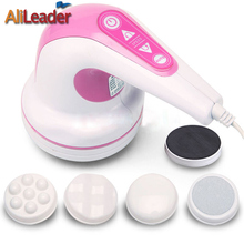 220V Loss Weight Fat Burner Massage Vibration Machine Health Products Scraping Push Grease Massager Professional Body Massager(China)