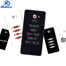 Custom Phone Cases For Samsung Galaxy C9 Pro For Galaxy Note4 /Note5 Shell For Grand Prime G530 Soft TPU Person English Printing