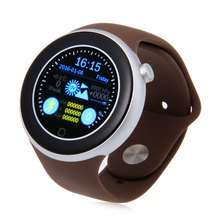 AIWEAR C1 Dual Bluetooth Heart Rate Track 1.22 inch Smart Watch with Siri Gesture Control Flashlight Calculator IP67 Waterproof