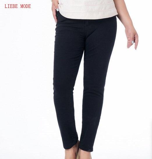 2017 Womens Push Up Black Jeans Pants Trousers Big Size Stretch Denim Jeans For Women High Waist Pencil Jeans Mujer 5XL 6XL 7XLÎäåæäà è àêñåññóàðû<br><br>