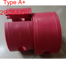 2Pcs Red A+ Type Car Shock Absorber Spring Bumper Power Cushion Buffer AMT Auto Suspension Coil Damper