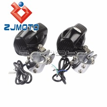 New For BMW R1200GS For Harley Motorcycle USB Charge Headlight Spotlight Fog Lights with 28mm Bracket