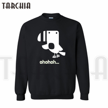 TARCHIA New Fashion Brand Free Shipping Cute Funny Lovely Bird Say Ohohoh Novely Street Hoodies Sweatshirt Man Casual Homme Boy(China)