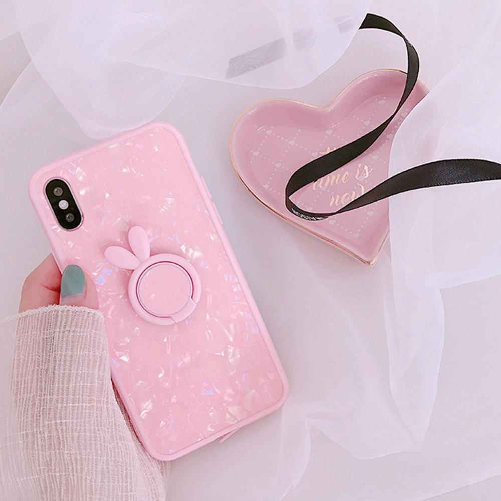 Heyytle Kickstand Phone Stand Holder Cover For Apple iPhone X 8 7 6S 6 Plus Case Shell Cute Fantasy Soft TPU Back Cover Cases 9