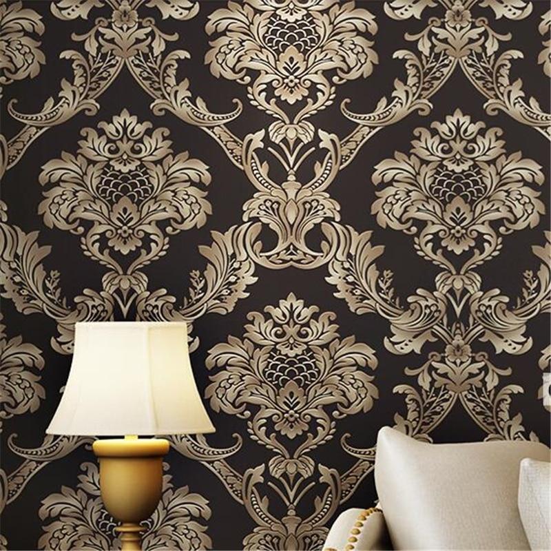 beibehang Wall paper roll TV Background metallic 3d wallpaper for walls 3 d papel de parede florido contact paper flooring<br>