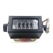 D67-F 5 digit counters Black Casing Mechanical Pull Stroke Counter manual counter