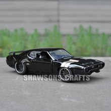 JADA FAST FURIOUS DIECAST MODEL CAR TOYS 1:32 PLYMOUTH GTX VEHICLE REPLICA(China)