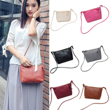 Women PU Leather Messenger Bag Small Mini Lady Handbag Body Crossbody Bag
