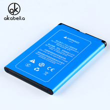 AKABEILA BL 4L Phone Battery For NOKIA E90 N97 E61i E71 E52 6760 slide Rechargeable Replacement Mobile Phone Batterie Bateria