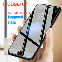Buy MOUSEMI Tempered Glass iPhone 7 8 Screen Protector 9H 2.5D Explosion Proof Film iPhone 7/7 8 Plus Glass Protection Cover for $1.09 in AliExpress store