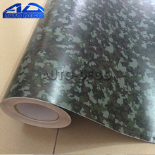 Digital Camo Military Camouflage Vinyl Car Wrap Sticker Bomb Printed Graphics Pvc Material Roll Sheet