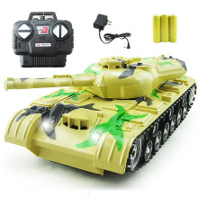 Kids Baby Toy RC Fighting Battle Tanks Kids Toys Remote Control Battling Tank Toys Baby Toys Gift Color At Random