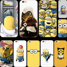 22 Styles Cover Despicable Me Yellow Minion Case For Apple iPhone 4 iPhone 4S iPhone4S Cases Shell 2017 Best Choose For Gift Hot