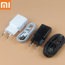 Original Xiaomi Redmi note 5 Charger 5V 2A EU Wall Charge Adapter Micro Usb Cable XIaomi redmi 4x 5 plus 5a note 4 4x