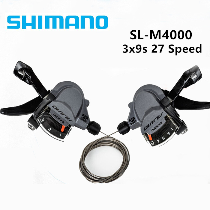 Alivio Shifters Shift Levers SL-M4000 Rapidfire 3x9S Bicycle Parts Cycling Shift