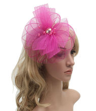 New Elegant  Women Brides Fascinator Hair Accessories Church Wedding Hair  Accessories 5PCS/LOT