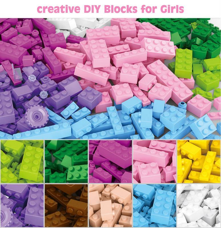 Sluban 0503 Building Blocks 415pcs DIY Creative Bricks Toys for Children Educational Bricks brinquedos Free Shipping legeod<br><br>Aliexpress