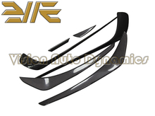 2013-2015 W176 A250 A45 Carbon Fiber Surface AMG Edition 1 and RZ Front Bumper side Canards Splitter Spoiler(China)