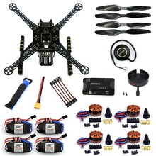 F19457-F DIY 4-Axle RC FPV Drone S600 Frame Kit with APM 2.8 Flight Control 40A ESC 700KV Motor GPS7M XT60 Plug Accessories