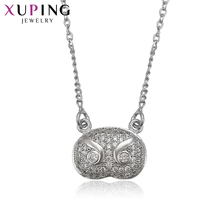 Xuping Fashion Elegant Necklace Lovely Exquisite Long Necklace High Quality Hot Sell Chain Jewelry Halloween Gifts S65-1-41878(China)