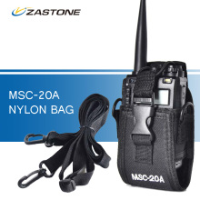 MSC-20A Nylon Bag Portable Walkie Talkie Case for Baofeng UV-5R UV-82 888S or other Two Way Ham Radio Walkie Talkie Accessories(China)