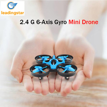 LeadingStar JJRC H36 Mini Drone Dron 6-Axis RTF 2.4GHz With Headless Mode One Key Return Helicopter Vs H8 H37 Dron Toy For Kid