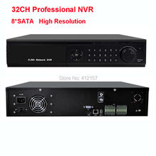 CCTV Security HDMI 1080P Full HD 32CH NVR 8 SATA Professional Video Recorder IP Network DVR ONVFI P2P Remote Access 3G WIFI