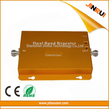 850/2100 Mobile Phone Booster GSM WCDMA 2G 3G CDMA/WCDMA 65db Gain  Repeater Complete kit Professional Manufactory Supplier