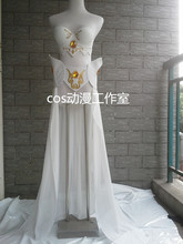 The Storm's Fury Classic Janna Cosplay Costume Anime Custom Made Uniform