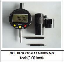 BST No. 1074 common rail injector meter tool for valve assembly with gauge(China)