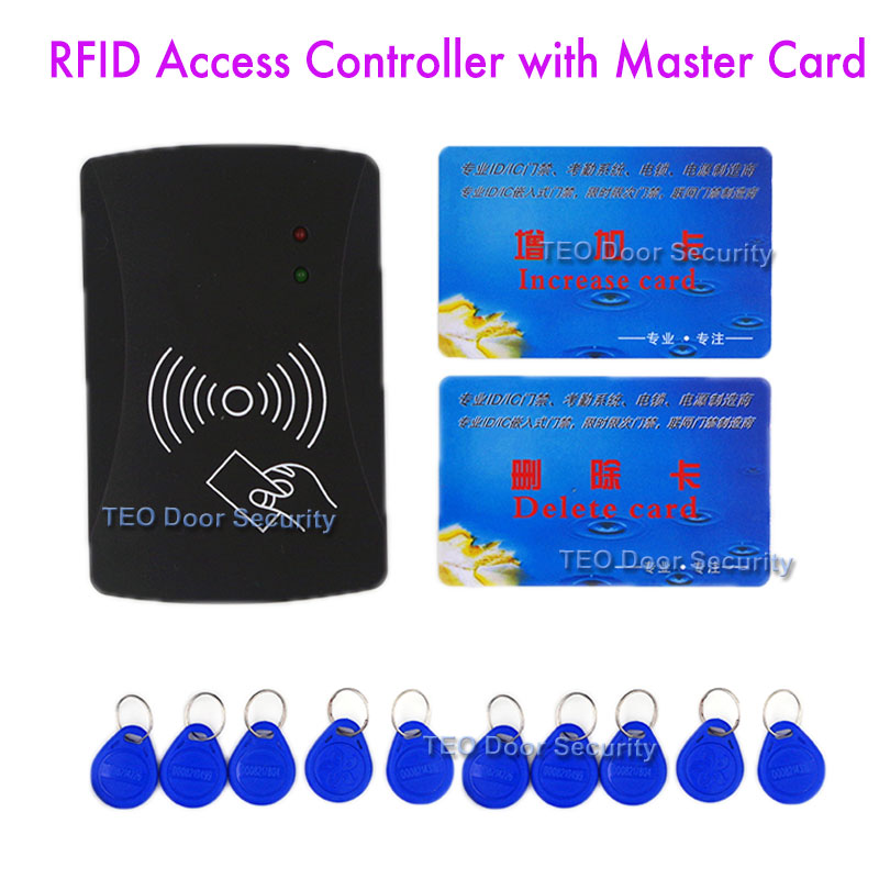 single door RFID Door Entry System Without Keypad (include add card +delete card)Mastercard Programmable For 10000 users<br><br>Aliexpress
