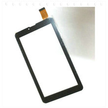 "Tempered Glass + New touch screen For 7"" Supra M74AG 3G Tablet Touch panel Digitizer Glass Sensor Replacement Free Shipping"
