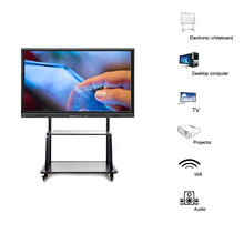 65 inch I5 4430 touch screen panel whiteboard lcd panel interactive all in one pc(China)