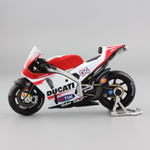1:18 scale kids mini GPIS andrea dovizioso lannone No04 motogp Factory racing team motor bike sport diecast cars motorcycle toys(China)