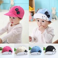 Spring Autumn Cotton Kids Baby Bunny Rabbit Visor Baseball Cap Cotton Peaked Hat  Baby Accessories lowest price