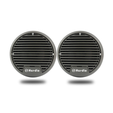 "Waterproof Motorcycle Speakers Portable Quality 160W 3"" Heavy Duty Mini Marine Speakers for ATV UTV Tractor Boat Surface Mounted"