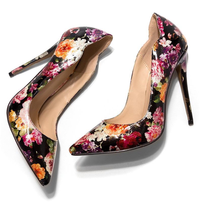 ... COCOAFOAL Stiletto Woman Purple Shoes Plus Size 34 - 43 Sexy Party Wedding  Ultra High Heels 2a4dc03d5525